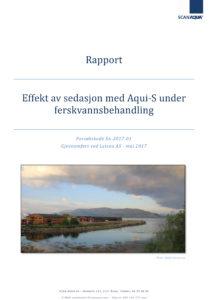 Forside---Sedasjon-ved-ferskvannsbehandling---Letsea---rapport---2017-06-08-1